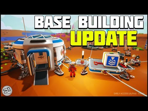 NEW EVERYTHING ! Astroneer Base Building Update ! 6.0 | Z1 Gaming