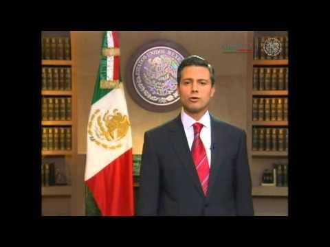 Mensaje del Licenciado Enrique Peña Nieto, Presidente de los Estados Unidos Mexicanos