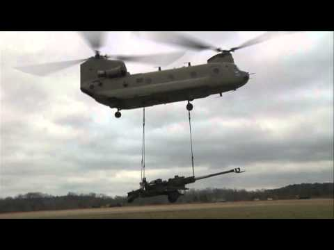 Sling Load Operations - 101st Airborne Division
