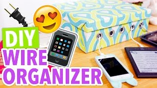 Diy Cellphone & Electronics Wire Organizer - Hgtv Handmade