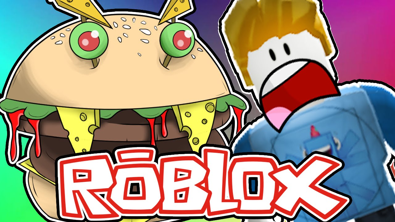 Roblox Escape The Giant Burger Obby Facecam Chad Alan Plays Squiddyplays Escape The Giant Burger Roblox Youtube