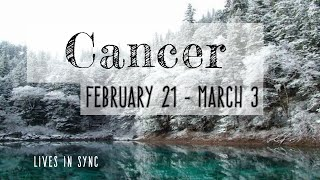"""CANCER FEB 21st – MAR 3rd """"PREPARE YOURSELF FOR THE BETTER OFFER"""" 2019 Weekly Tarot Reading"""