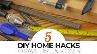TOP 5 HOME HACKS | Mr. Fix It