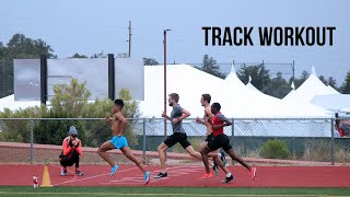 Track Workout with Atlanta Track Club Elite | Altitude Training Camp