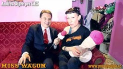 La schiacciapalle MISS WAGON incontrata da Andrea Diprè