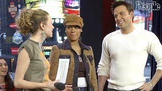 Camera records Ben Affleck grasp Hilarie Burton's breast on MTV, Ben Affleck allegedly!