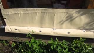 видео Пластиковые окна белгород и шторы для беседок