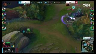 KT vs MVP - Thresh Support Insane Baron Steal