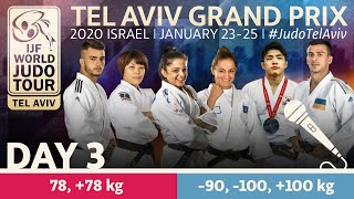 Judo Grand-Prix Tel Aviv 2020 - Day 3: Elimination Commentated