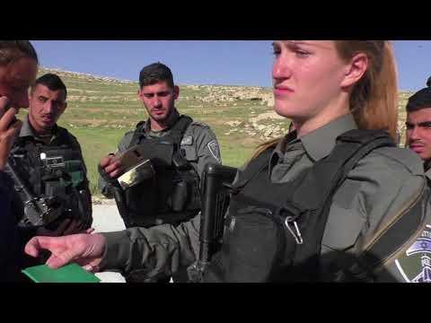 2018 04 06 Israeli Border Police Harassment In Al Birkeh