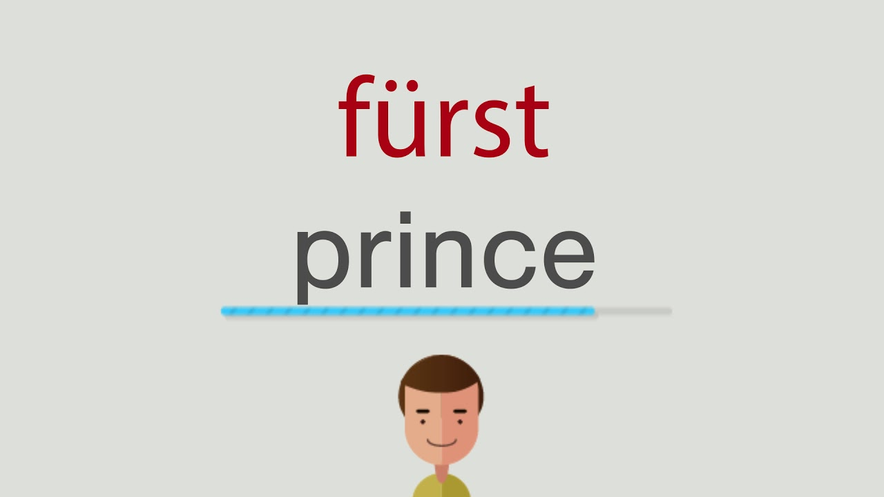 Fürst Englisch