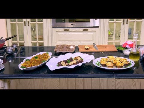 خبز بالبطاطس و الشيدر- دجاج بالكاري والبطاطس - كرات اللحم بصوص العسل : الشيف(حلقة كاملة)