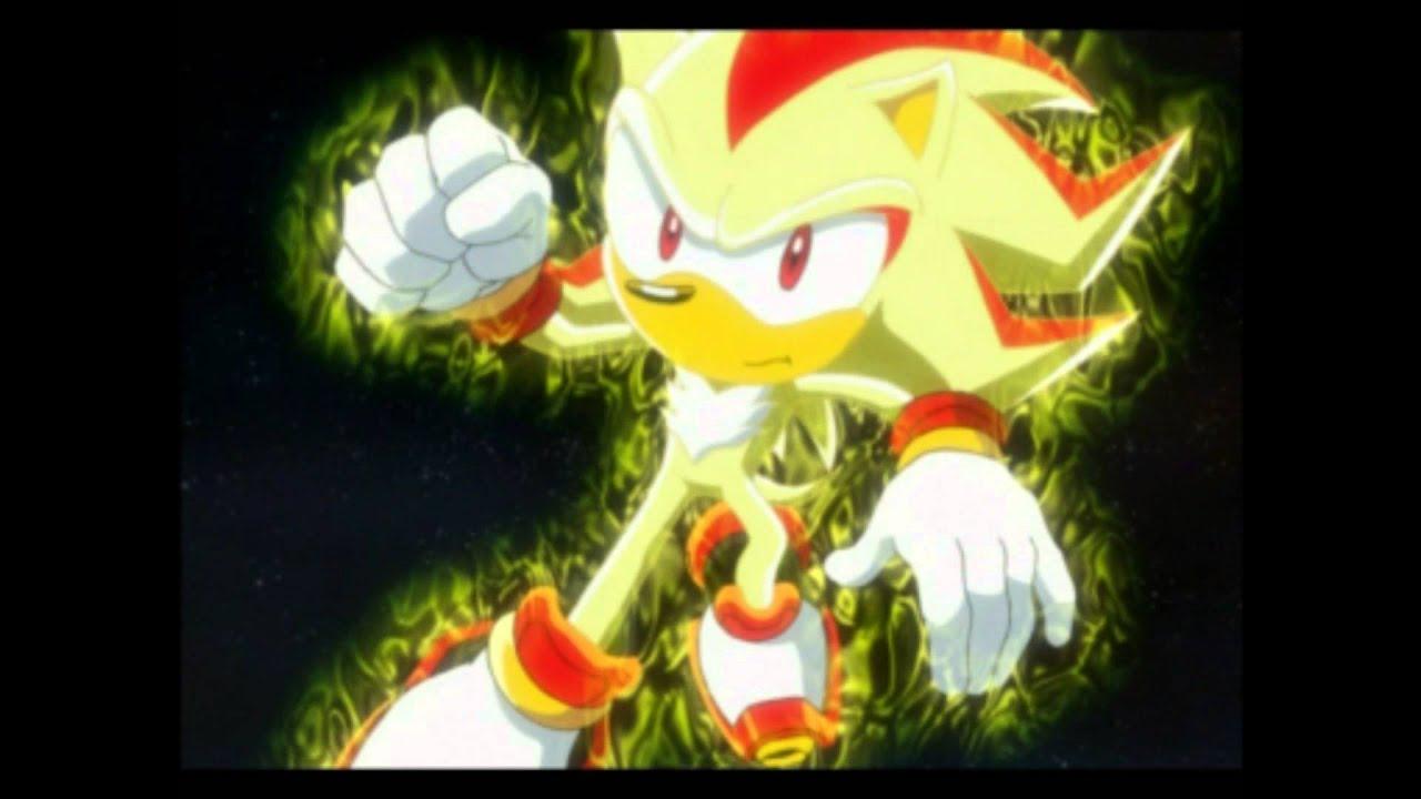 Sonic X Sonic VS Shadow Full fight HD  YouTube