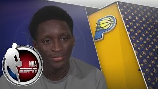 Victor Oladipo gives exclusive interview ahead of facing Paul George at Pacers | ESPN thumbnail