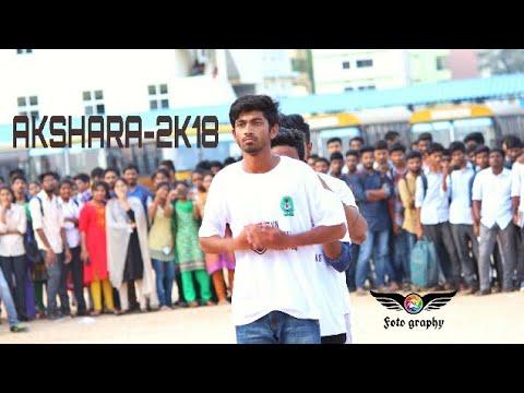 MREC   AKSHARA 2K18   Flashmob   @MANJEERA MALL  