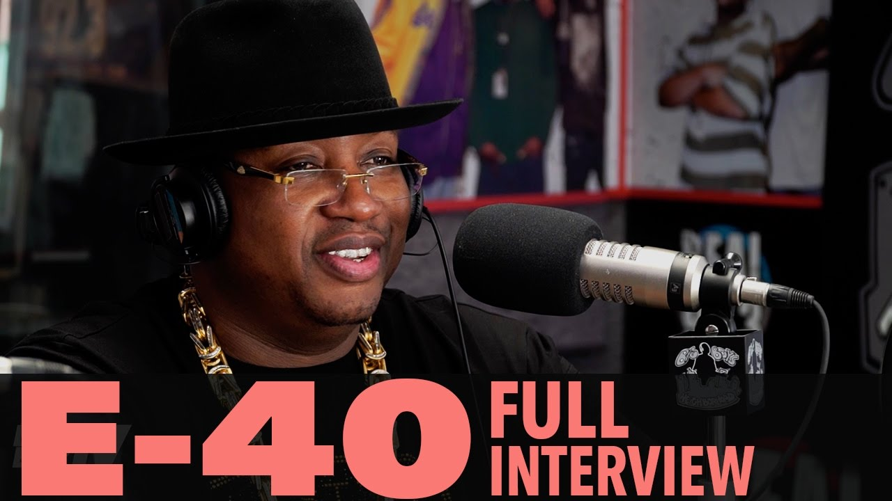 """Download E-40 on """"The D-Boy Diary"""", Being Friends With Tupac, And More! (Full Interview) 