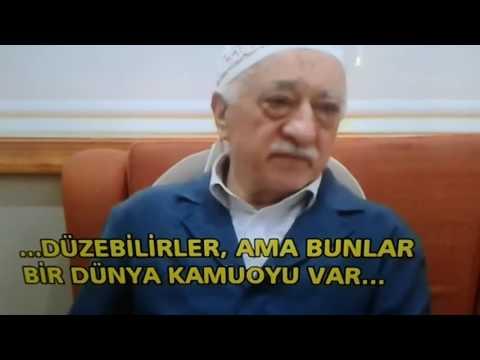 FETULLAH GÜLEN DARBE KARŞITI HALKA AHMAK DEDİ !