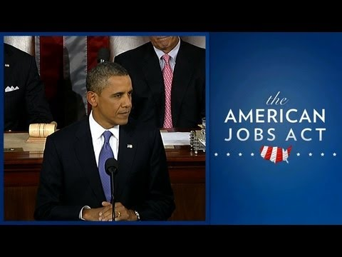 President Obama Presents American Jobs Act (Enhanced Version