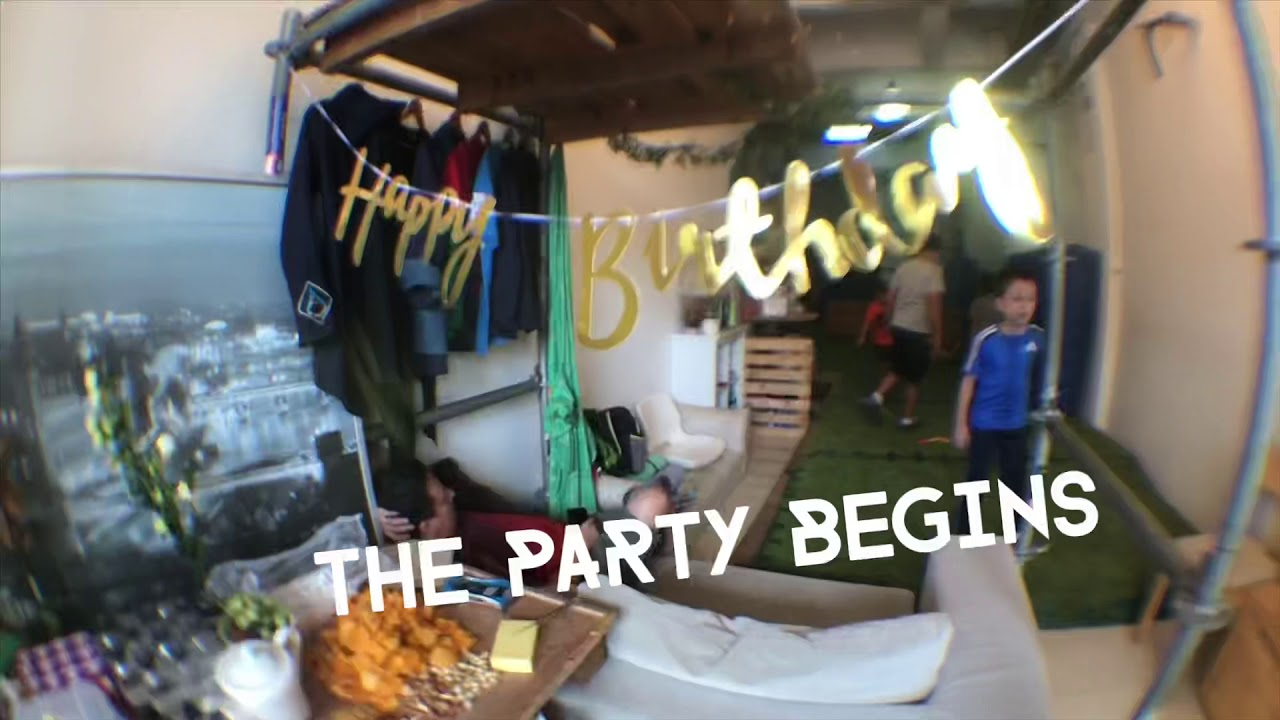 Birthdays Parties 🎉!  | Parkour Singapore | A2 Parkour