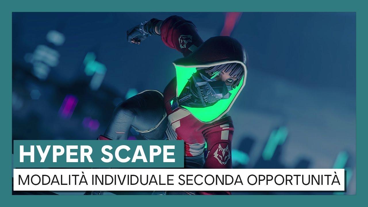 Hyper Scape: Trailer Modalità Individuale Seconda Opportunità