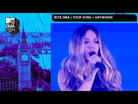 Rita Ora Performs 'Your Song' & 'Anywhere' Medley | MTV EMAs 2017 | Live Performance