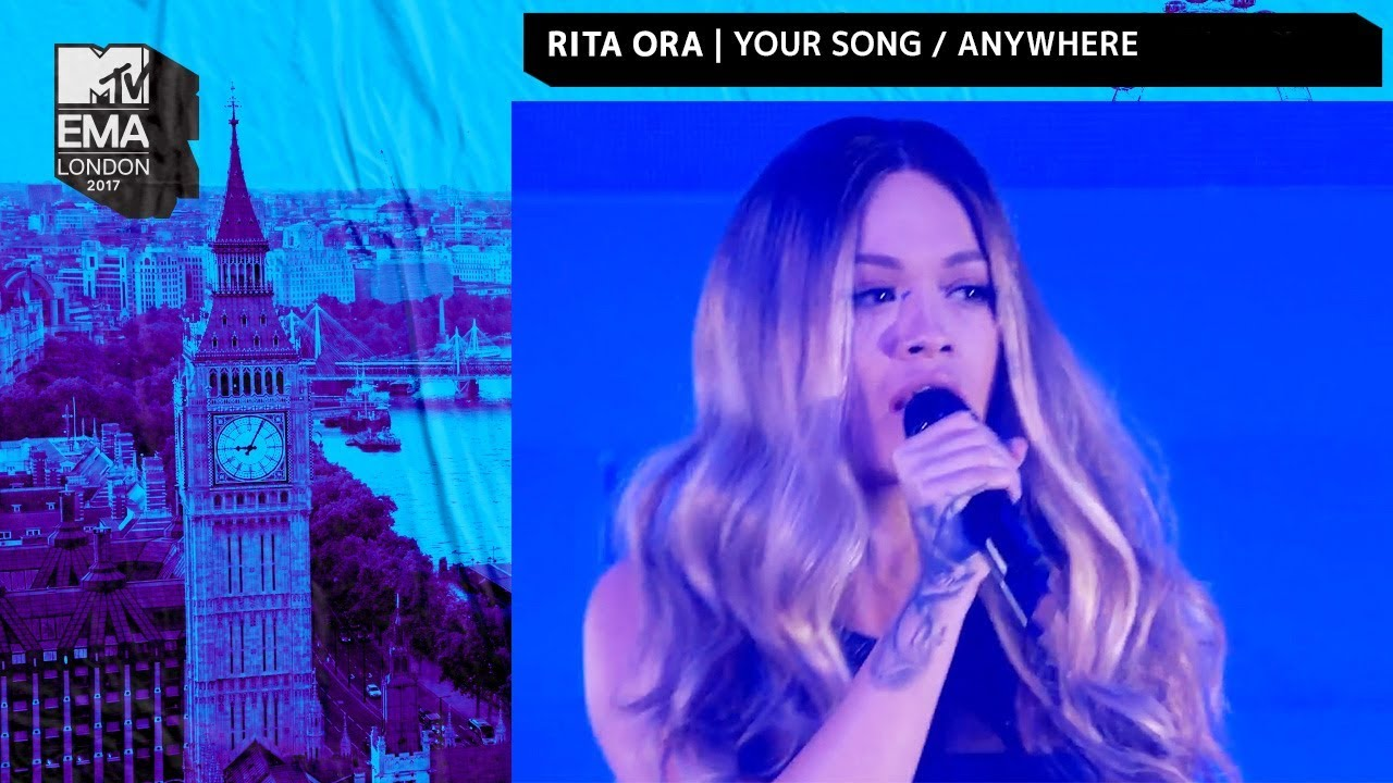 Rita Ora Performs Your Song Anywhere Medley Mtv Emas 2017 Live Performance Mtv Music Youtube