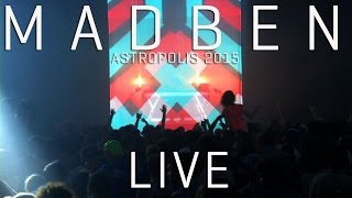 Madben - In the Middle of Nowhere - Cymatics Live (Astropolis 2015)