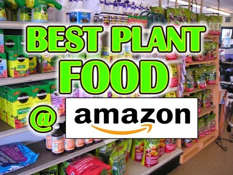 TOP 5 PLANT FOOD on AMAZON 2017
