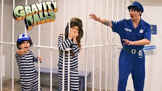 Parents do not have to find out what we did! Prison Break Gravity Falls Dipper and Wendy!