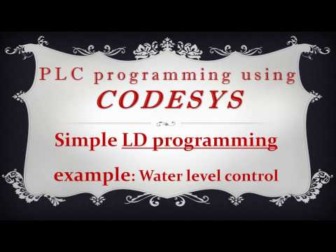 CODESYS: Simple LD programming example - Water level control
