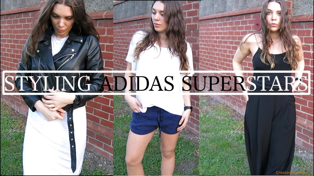 Adidas Superstar With Shorts Women