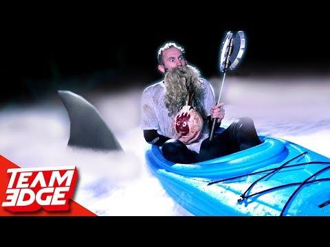 Icewater Shark ATTACK Challenge!! ❄️🦈