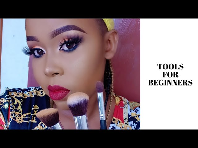BASIC MAKEUP TOOLS FOR BEGINNERS // TUTORIAL
