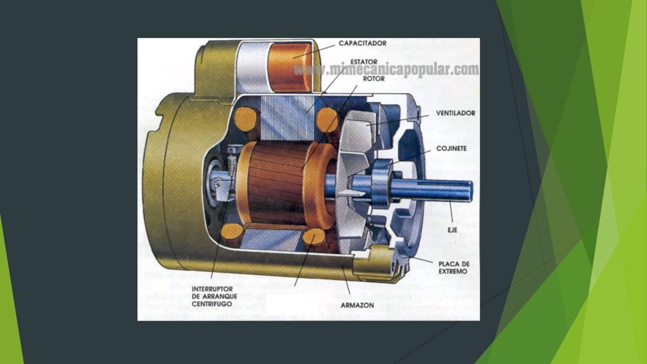 Motor Monofásico De Arranque Por Capacitor 4º B Enre Youtube