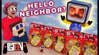 HELLO NEIGHBOR Invades FGTEEV Season 2 Toys?! Puppet Steve Faints!