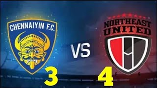 Chennaiyin FC vs North East United FC (3 - 4) Full Match Highlights ISL 2018 | NEWS SRW