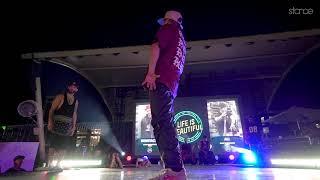 Ben Stacks vs Ali - Półfinał 1vs1 na Life is Beautiful 2018: B-boy Showdown