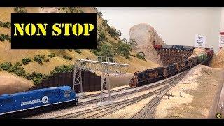 Нон-стоп моделі залізничного дій