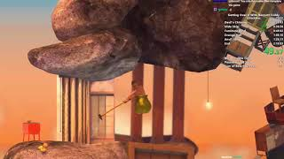Getting Over It Speedrun in 2:08