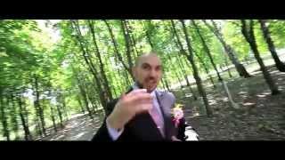 Необычное свадебное видео на музыку. Саша и Эля. Свадьба 13.07.2013