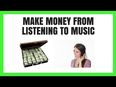 How To Make Money Listening To Songs Online