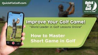 Golf class online chipping stroke short game