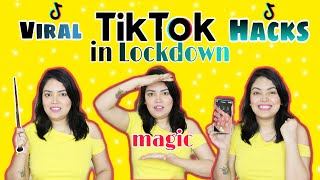 I Tested VIRAL TikTok Life HACKS  In LOCKDOWN To See If They Work Part 3  Anku Sharma