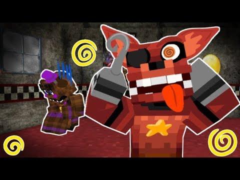 Foxy Breaks Down! Minecraft FNAF 6 Pizzeria Simulator!  (Minecraft Roleplay)