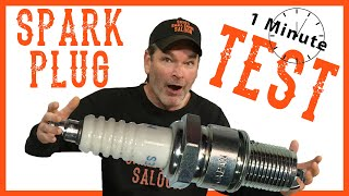 How To Test A Spark Plug In 1 Minute  Video