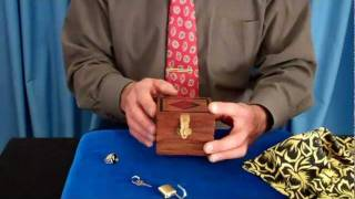 Locked Box Holds Treasure Secrets