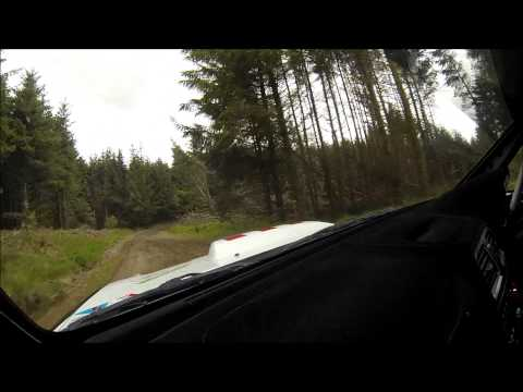 SUBARU NFTO RALLY TEAM IMPREZA N12 SEVERN VALLEY STAGES ONBOARD 2015