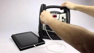 XP2260W Schumacher Portable Power 1200 Peak Amps