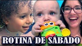 NOSSA ROTINA DE SÁBADO