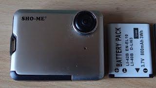 Відеореєстратор SHO ME заміна акумулятора